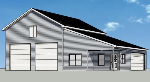garage addition plan
